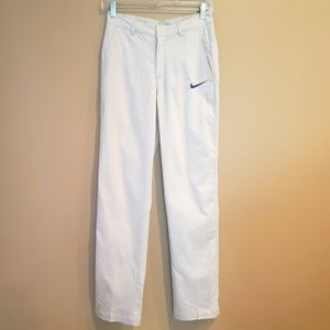 Nike Dri-Fit Flat front Pants NWT